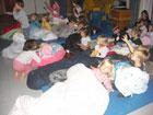 Schlaffest der Bergkita am 04.11.11