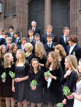 Konfirmation am 16.05.2010