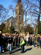 vor der Peterskirche