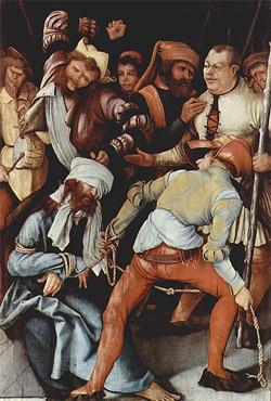 'Verspottung Christi', 1503-1505, Matthias Grünewald