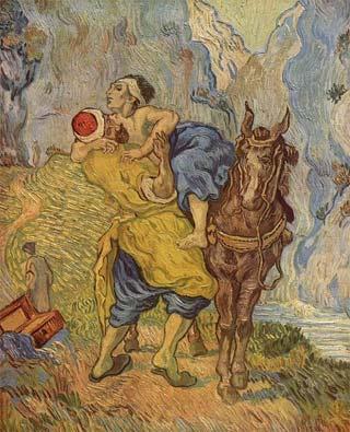 'Der gute Samariter', 1890, Vincent van Gogh