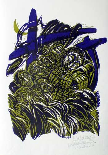 'Seesturm', 1977 - Walter Habdank. © Galerie Habdank