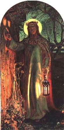 'The Light of the World', 1851, William Holman Hunt