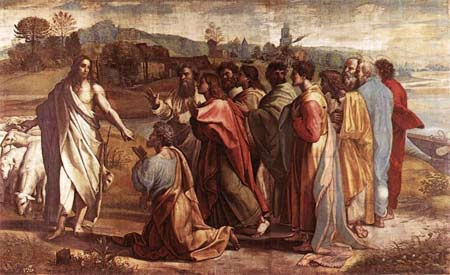 'Christ's Charge to Peter', 1515 - Raffaello Sanzio