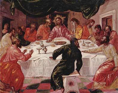 'Das Letzte Abendmahl', 1596 -  El Greco