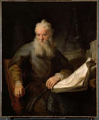 'Apostel Paulus', Rembrandt, 1635