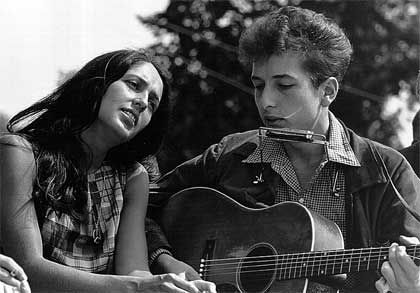 'Joan Baez and Bob Dylan, Civil Rights March on Washington, D.C.', 1963, Rowland Scherman, National Archives and Records Administration