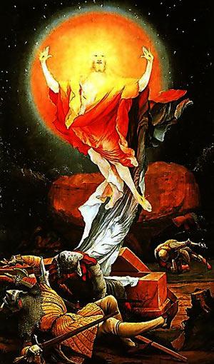 'Die Auferstehung', Matthias Grünewald