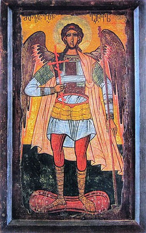 'The Archangel Michael ', 16th-17th century, Tbilisi