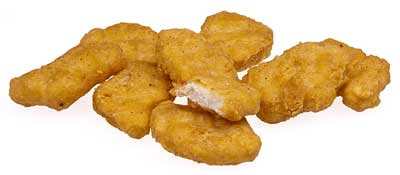 'A pile of McDonalds Chicken McNuggets, as bought in America', 2011, Evan-Amos
