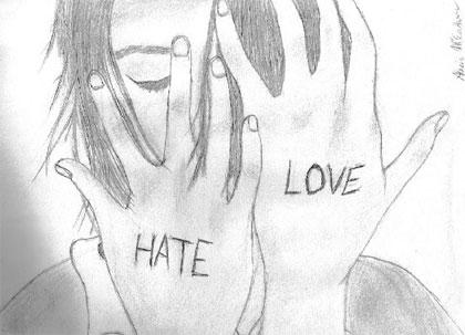 Love - Hate by Vashta-Nerada91 ... vashta-nerada91.deviantart.com. Zur nicht kommerziellen Wiederverwendung gekennzeichnet.