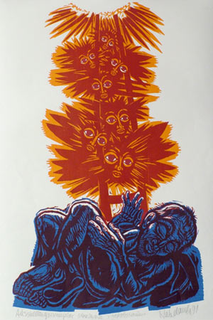 'Jakobstraum', 1991 - Walter Habdank. © Galerie Habdank