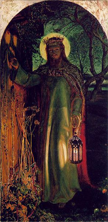 'The Light of the World', 1853-54, Willam Holman Hunt