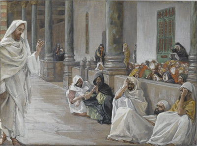 'He Who is of God Hears the Word of God', between 1886(1886) and 1894, James Joseph Jacques Tissot