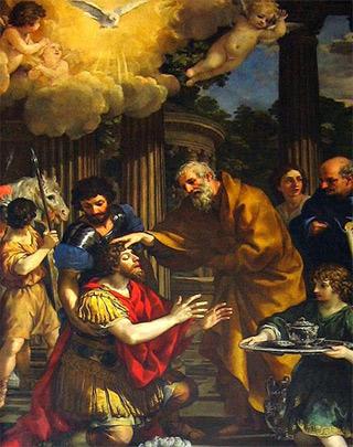 'Ananias restoring the sight of Saint Paul', 1631, Pietro De Cortana