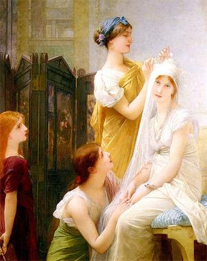 'The Fiancée', 1836–1911, Jules Joseph Lefebvre