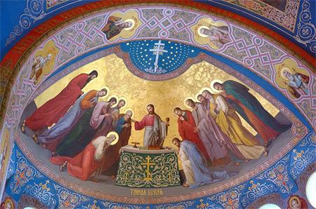 'The Lord's Supper', 2009, Иерей Максим Массалитин