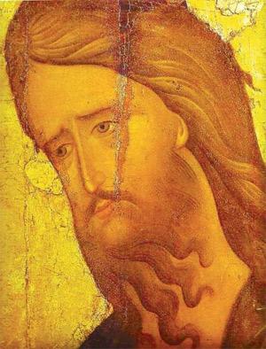 Johannes der Täufer, (orthodoxe Ikone, 15. Jhd.)