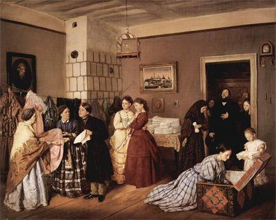 'Die Mitgift', 1873, Wassilij Wladimirowitsch Pukirew