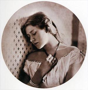 'Sadness', 1864, Julia Margaret Cameron