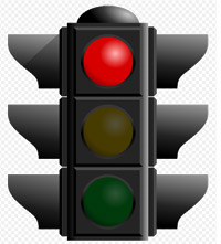 'Red traffic light', 2005, Open Clip Art Library