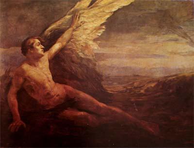 'The Awakening of Icarus ', 1877 - 1939, Lucílio de Albuquerque
