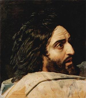 'Kopf Johannes des Täufers',  1837-1857, Alexander Andreyevich Ivanov