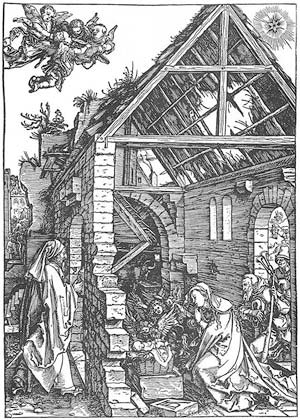 'The Adoration of the Shepherds', 1504-1505, Albrecht Dürer