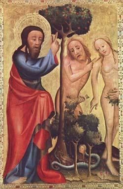 'Sündenfall',  1375-1383, Meister Bertram von Minden