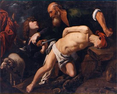 'Sacrificio de Isaac', hacia 1616, Pedro de Orrente