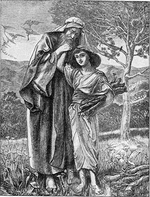 'Abraham and Isaac', 1897