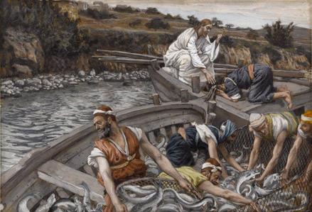'La pêche miraculeuse'