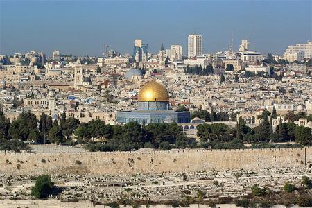 'Jerusalem Dome of the rock', 2008, Berthold Werner