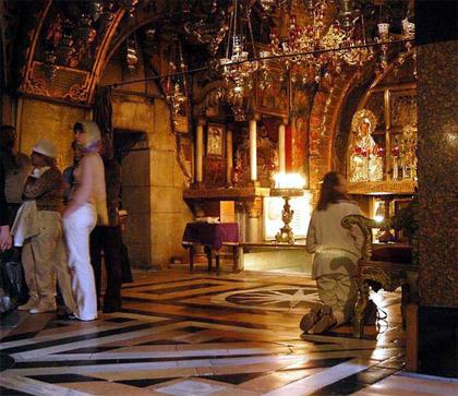 'In der Grabeskirche auf Golgatha', 2005, Easter Sunday, Wayne McLean