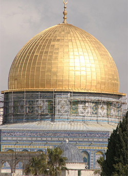 'Dome of the rock in Jerusalem', 2004, Shmuel Spiegelman