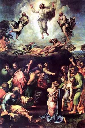 'Verklärung Christi', 1519-1520, Raffaello Sanzio