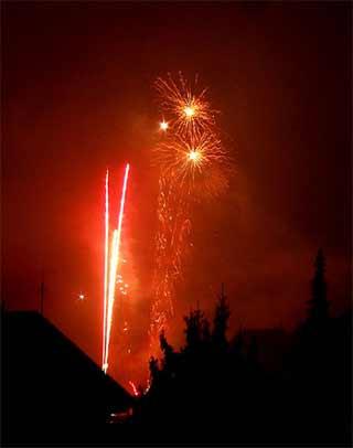 'Firework', 2007,  Wildfeuer
