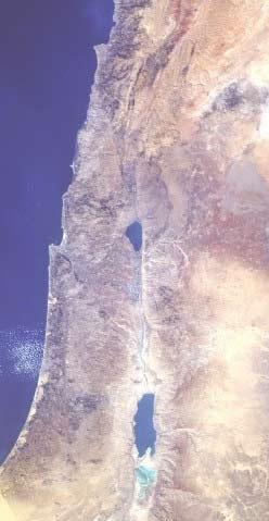 'Jordan River viewed from space, 2008, Ilmari Karonen