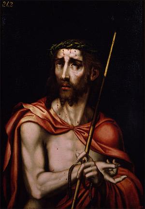 'Ecce Homo', circa 1570, Luis de Morales
