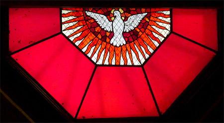 'Taube als Symbol des Heiligen Geistes', 2011, GFreihalter