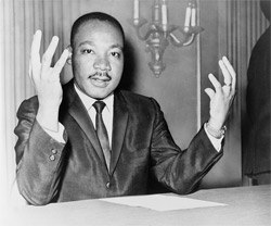 'Rev. Martin Luther King,', 1964, New York World-Telegram and the Sun staff photographer: DeMarsico, Dick, photographer