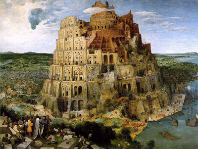 'Turmbau zu Babel', 1563, Pieter Brueghel the Elder