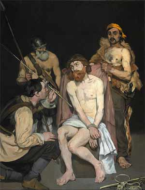 'Jesus Mocked by the Soldiers', 1865, Édouard Manet