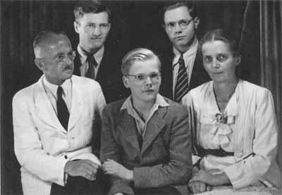 'Familie Fritz Kahl', 1938, Eugen Kahl