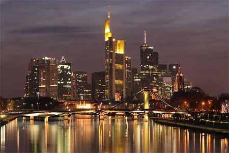 'Skyline Frankfurt am Main', 2006, Nicolas Scheuer