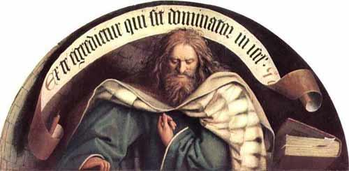 'Der Prophet Micha',  1426-1432, Hubert van Eyck
