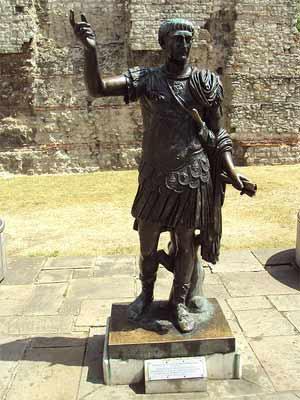 'Statue of Roman emporer Trajan', 2010, Green Lane