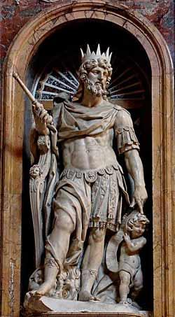 'Statue of King David by Nicolas Cordier', 2006, Jastrow