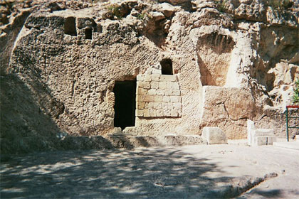 'Jerusalem Tomb of the Garden', 2008, Utilisateur:Djampa, GNU-Lizenz für freie Dokumentation