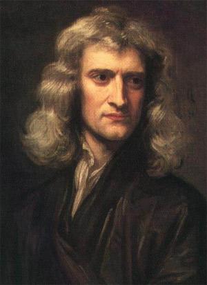 Isaac Newton, 1689